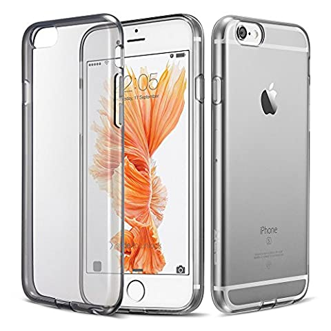 iPhone 6 / 6S Case, ESR® Ultra Thin [1.5mm] Transparent Clear Soft Gel TPU Silicone Case Cover for Apple iPhone 6 (2014) / 6S (2015) (Jelly