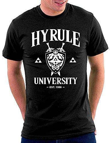 Hyrule University T-shirt Schwarz