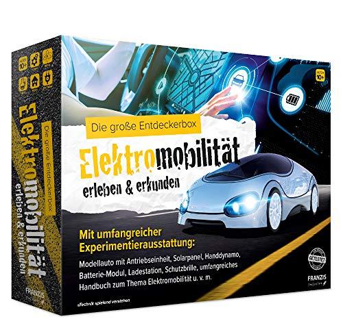 FRANZIS young Explorer Die große Entdeckerbox Elektromobilität erleben & erkunden | mit umfangreicher Experimentierausstattung | Ab 10 Jahren