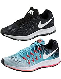 Nike Air Zoom Pegasus 33 Running Zapatillas para Mujer, Blau (Glacier Blue/White