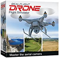 Great Planes RealFlight GPMZ4800 RealFlight Drone with Interlink Elite Mode 2 Edition Toy from Hobbico Inc.