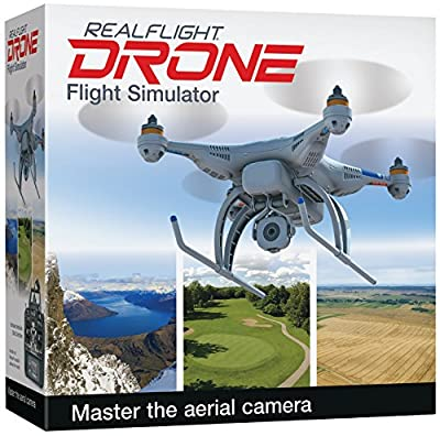 Great Planes RealFlight GPMZ4800 RealFlight Drone with Interlink Elite Mode 2 Edition Toy