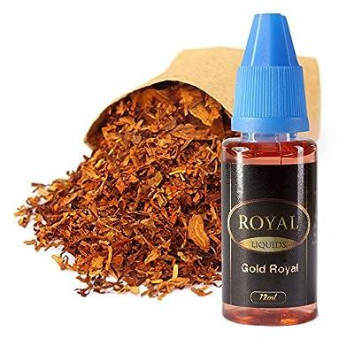 E-Liquid Gold Royal ohne Nikotin für E-Zigarette 12ml Inhalt von Royal Liquids
