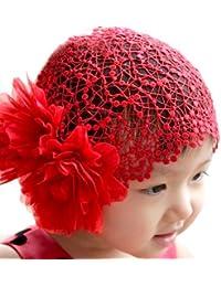 LOCOMO bebé niña diadema banda ancha grande flor floral boda fba018