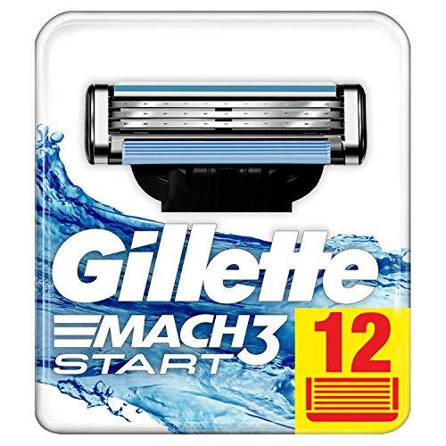 Rasierklingen Gillette Mach3 für Herren, 12-teilig - Gillette 12 Mach3 Rasierklingen