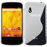 Nueva carcasa en silicona para Google Nexus 4 con efecto Diamante, TPU etc. Muchos diseños disponibles!