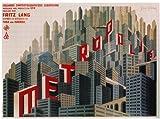 Metropolis Poster Movie French 27 x 40 In - 69cm x 102cm Brigitte Helm Alfred Abel Gustav Froehlich Rudolf Klein-Rogge Fritz Rasp Heinrich George