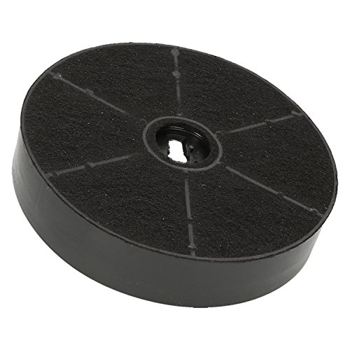 ✧WESSPER® Filter für Dunstabzugshaube MAAN Corona (rund, kohle) -