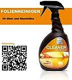 Reiniger für matte, satinierte oder glänzende Fahrzeugfolien von DaHici