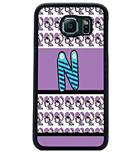 PrintDhaba SAMS6bet N D-5825 Back Case Cover for SAMSUNG GALAXY S6 (Multi-Coloured)