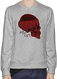 Brain Skull Hombres sudadera XX-Large