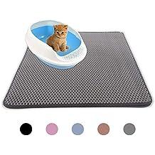 Steerfr Esterilla para Gatos-Diseño Plegable Plegable De Nido De Abeja De Doble Capa,