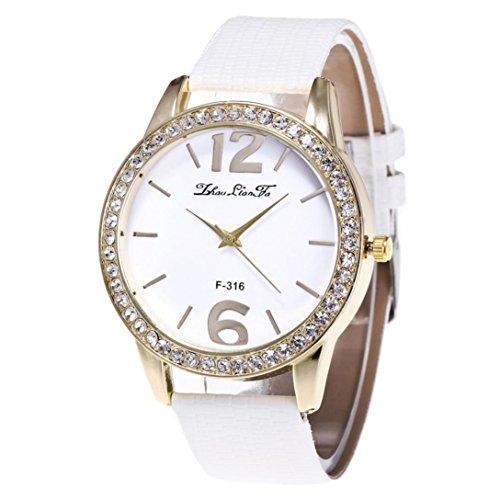 venmo-womens-quartz-watches-white-pu-leather-strap-valentines-day-gift-white
