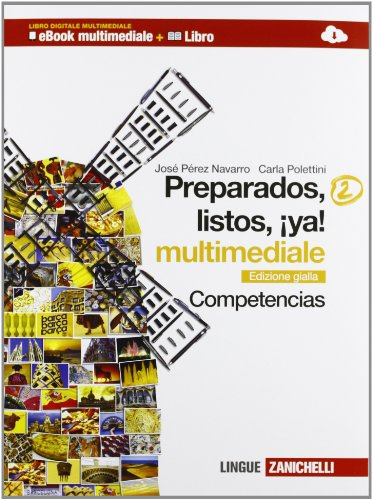 Preparados, listos, ya! Competencias. Ediz. gialla. Per la Scuola media. Con e-book. Con espansione online: 2