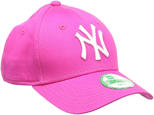 A NEW ERA K 940 Mlb League Basic York Yankees - Gorra para niño, color rosa, talla Niño (Child)