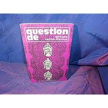 Question de n° 32