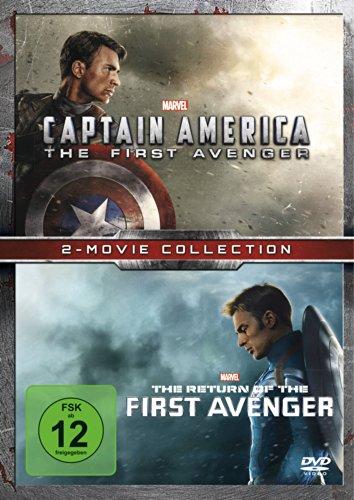 Bild von Captain America - The First Avenger + The Return of the First Avenger [2 DVDs]