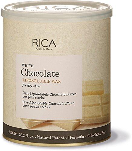 Rica White Chocolate Liposoluble Wax-800ml