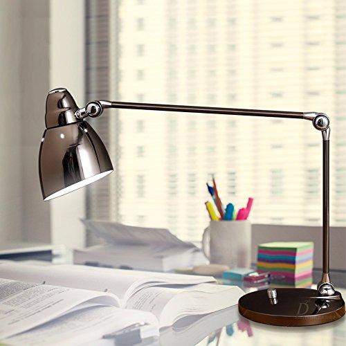erne Minimalistische Kreative Schlafzimmer Arbeiten Lernen Licht Kontaktlinsen Lampe,Schwarz ()