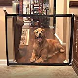 Byjia Magic Gate Pet Dog Safety Gabinete Plegable Portátil Gauze Guard Instalar En Cualquier Lugar