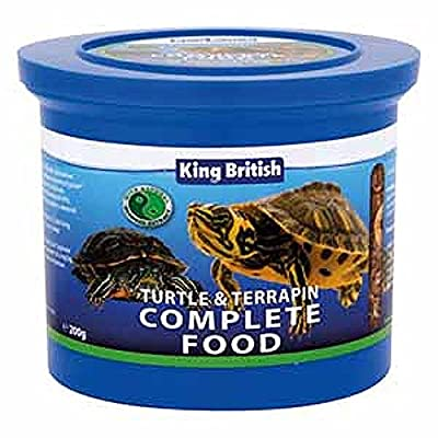 (2 Pack) King British - Turtle Food 200g from King British