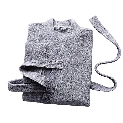DUJX Baumwolle Bademantel Bademantel Männer Und Frauen Paar Winter Verdickung Japanischen Pyjamas Langes Handtuch Yukata Saugfähig