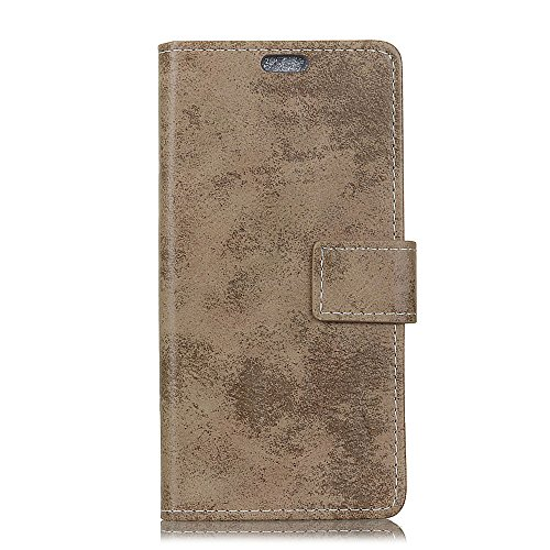 casefirst Fujitsu Arrows M04 Case, Cover for Fujitsu Arrows M04 Cover for Built-in Stand Function for Fujitsu Arrows M04 - Khaki Leather - Arrow Khaki