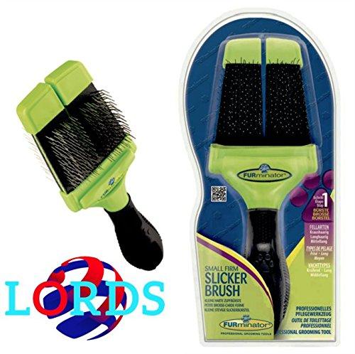 Produktbild FURminator Soft Slicker Brush klein: Bürste wollkämmers Weich Klein
