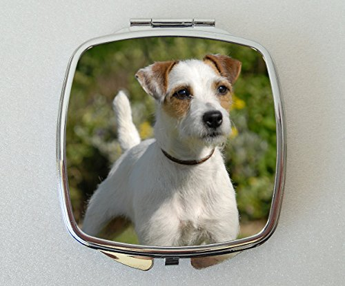 Parson Russell Terrier Dog Compact Mirror Fun Novelty Gift by Starprint Sublimation