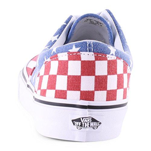 Vans Era 59, Chaussons Sneaker Adulte Mixte Red Blue