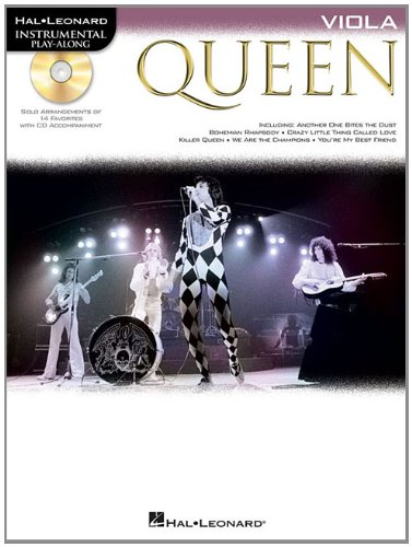 Queen (viola) alto+CD (Instrumental Play-Along)