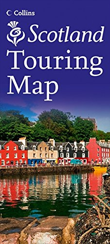 Visit Scotland Touring Map Cover Image