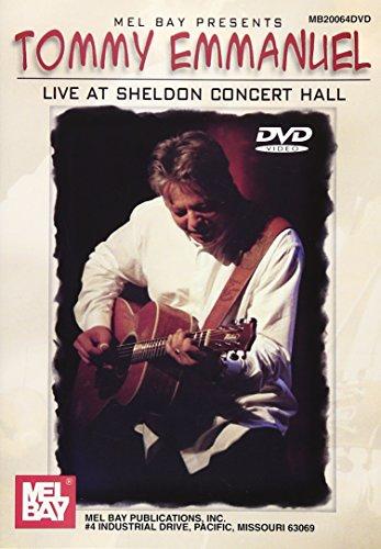 Tommy Emmanuel Live At Sheldon Concert Hall Dvd [Edizione: Regno Unito]
