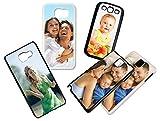 Handyhülle selbst gestalten für Samsung Galaxy-Serie * Cover Case Schutzhülle mit eigenem Foto, Farbe:Schwarz, Handymodell:Samsung Galaxy S3 Mini