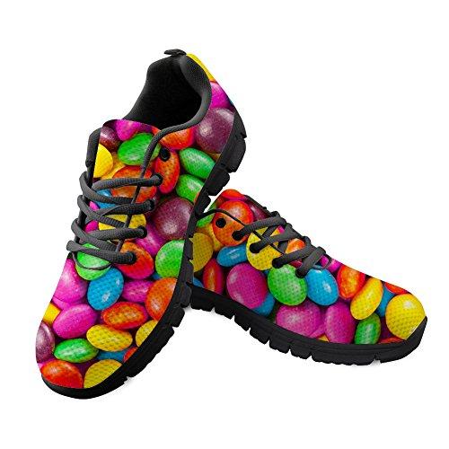 Nopersonality Damen Sportschuhe Ultra Leichte Laufschuhe Rutschfeste Sneakers Mädchen Schuhe Sommerschuhe Mehrfarbig Gr:-40 EU