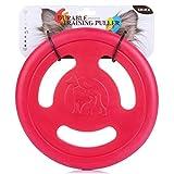 Znoka - Disco volador de tres agujeros para mascotas, juguete volador de EVA para perro, cachorro, juego, juguetes de disco para mascotas al aire libre