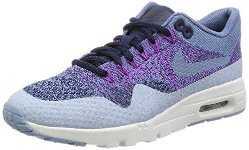 Nike 859517-400 Air Max 1 ultra flyknit Damen Sneaker Violett (38 EU) (Flyknit Damen Nike Gelb)
