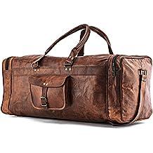 A.P. Donovan - Borsa vacanze, utilizzabile per il fitness, i viaggi - ideale come bagaglio a mano - angolare, d'epoca - a mano - in