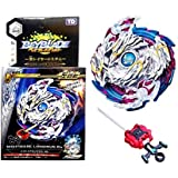 MTT Solution Gyro Battling Top Beyblade Burst B-97 Beyblade Burst Starter Nightmare Longinus.Ds W Launcher Spinning Top with Bey Launcher LR Two-Way String Launcher Toy