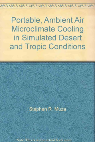 Portable, Ambient Air Microclimate Cooling in Simulated Desert and Tropic Conditions