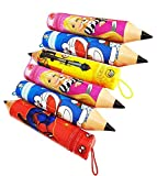 #7: Fully Zipper Pouch for Kids, Pencil Pouches for School, Stationery Pen Case Makeup Toiletry Bath Storage Case, 20 Grams, Pack of 1 (M-4)