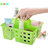 KBF Plastic Storage Basket Organizer with Handle for Bathroom Kitchen Home Office Tidy Box
