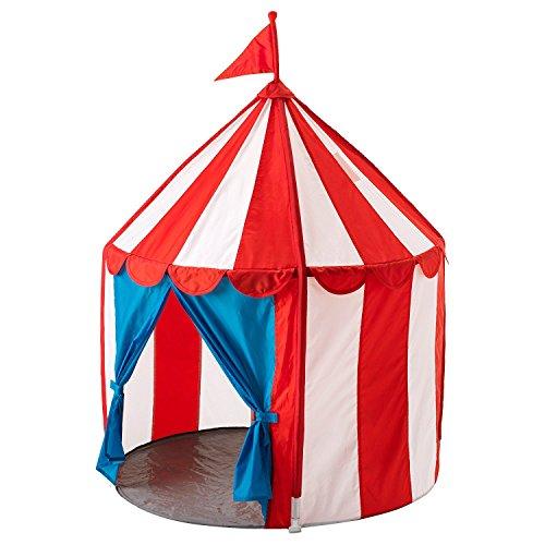 IKEA 724165100589CIRKUSTALT Zelt für Kinder, Mehrfarbig