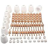 Baoblaze 100 Piezas Conjunto de Cortador de Plasma PT-31 Air Extiende Consumibles para LGK-40, CT312