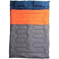 Xin Su Envelope Pareja Saco De Dormir Doble Engrosamiento Creciente Cálido Acampar Al Aire Libre Acampar