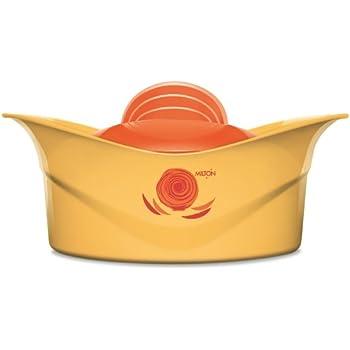Milton Regalia Plastic Casserole with Lid, 230mm, Yellow
