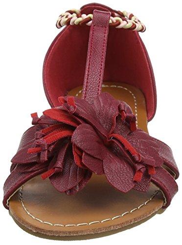 Joe Browns Tropical Escape Sandals, Sandali Punta Chiusa Donna Red (a-dark Red)
