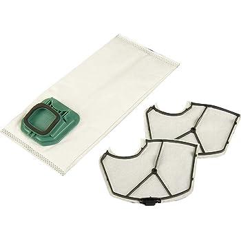 3 Filter geeignet Vorwerk Kobold 140 150 15 Staubsaugerbeutel Vlies 18 Duft