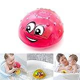 Babys Badespielzeug Badewannenspielzeug, Pool Spielzeug Kinder Mit Licht, Kann Schweben Und Sich Mit Brunnen Drehen Wasserstrahl Ball
