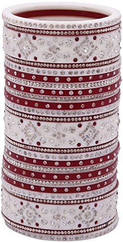 5. Meera Suhag Bangels Plastic Punjabi Chuda Set for Women (Seller_1912)